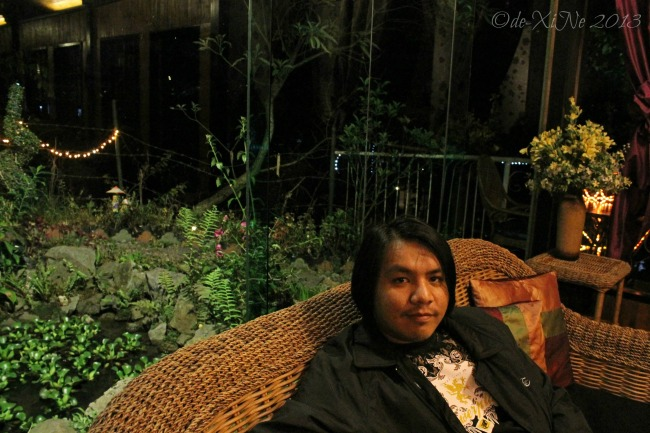 Lounging around at Secret Garden