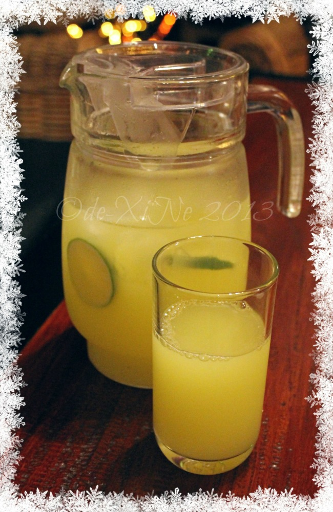 Secret Garden lemonade pitcher