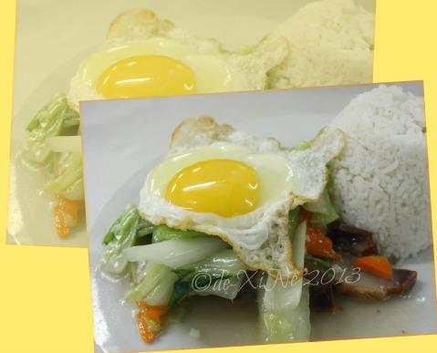 Luisa's Cafe Luisa's rice