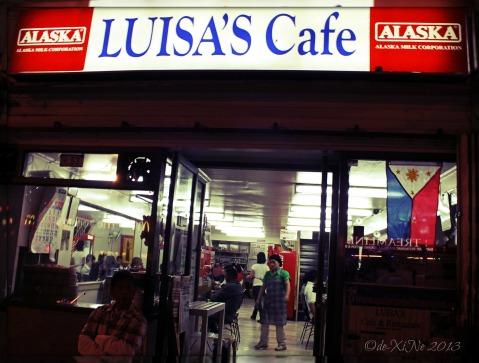 Luisa's Cafe facade