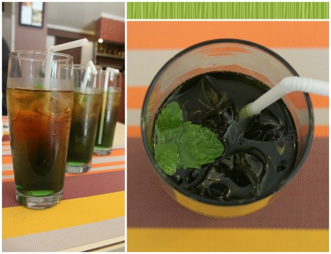 Amare La Cucina mint iced tea