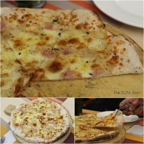 Amare La Cucina white pizza