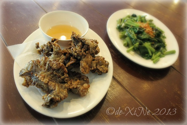 Chic-Boy chicharon bulaklak/flower cracklings