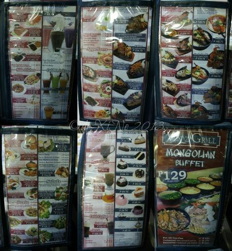 Veniz Grill menu