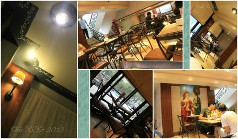 Cafe Veniz dining area