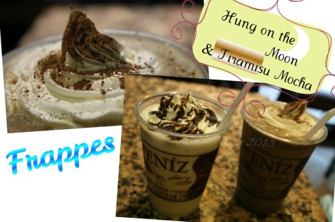 Cafe Veniz frappe drinks