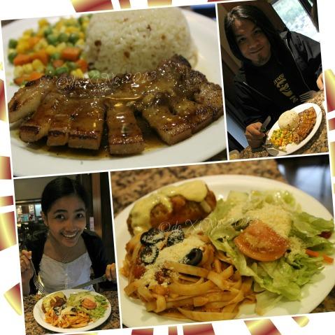 dining on Cafe Veniz food