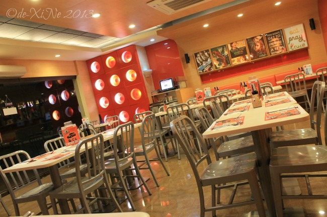 Pancake House (CJH Ayala Technohub) dining area