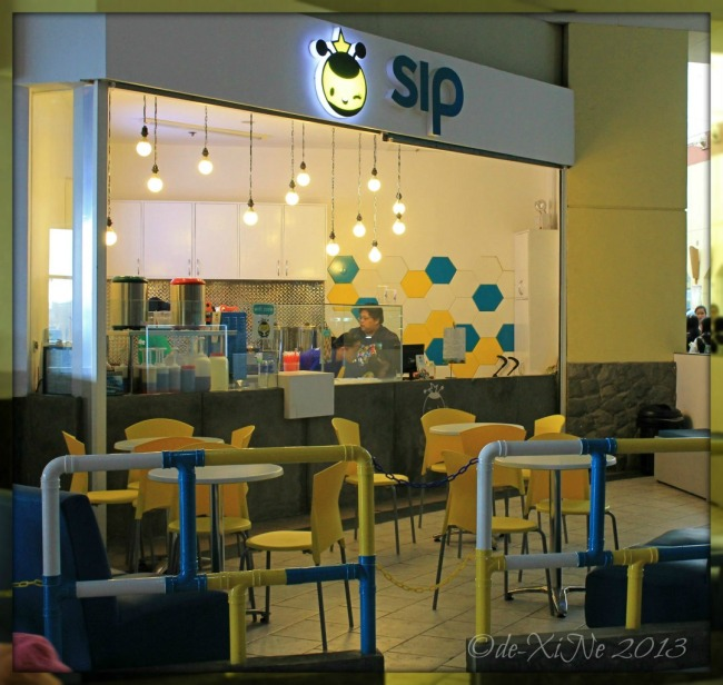 The milk tea shop of Sip