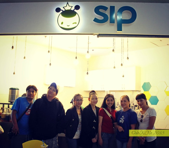 Cordillera/Baguio Bloggers at Sip Milk Tea Shop