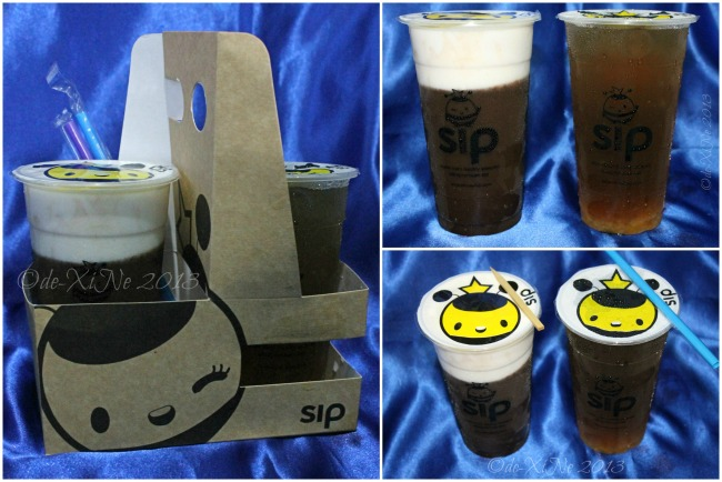 Sip Milk Tea Shop giveaway and pasalubong