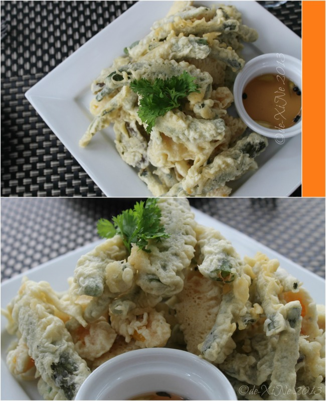 Charley's Bar at C Boutique Hotel pakbet tempura