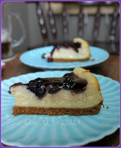 Cakes by Yda Baguio blueberry cheesecake