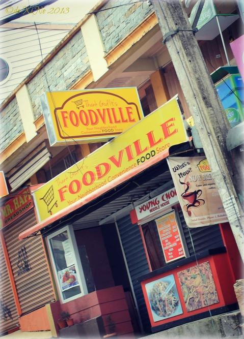 FoodVille Baguio facade