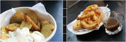 Cafe de Illustradoz Baguio snacks - old fashioned potatoes and churros con tsokolate