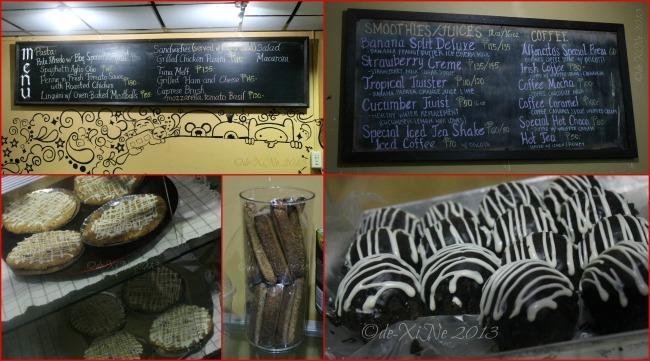 Alfoncito's Place Baguio menu and treats