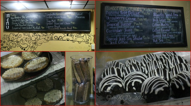Alfoncito's Place Baguio menu and treats