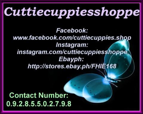 CuttieCuppies Shoppe Baguio contact details
