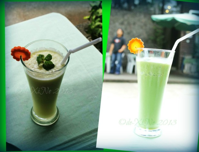Chaya Restaurant drinks