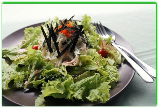 Chaya Restaurant kani salad