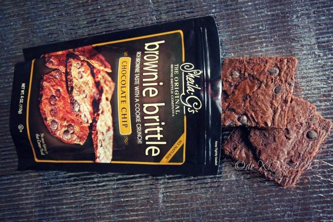 Cuttie Cuppies Shoppe Baguio Sheila G's brownie britlle chocolate chip