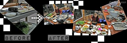 Wellbeing Ssampbap Korean Restaurant Baguio dining on ssambap