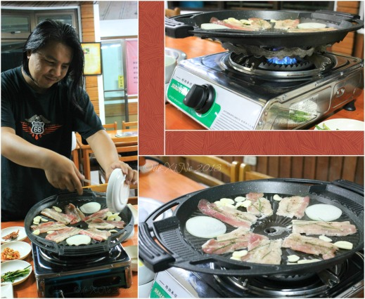 Wellbeing Ssampbap Korean Restaurant Baguio grilling time