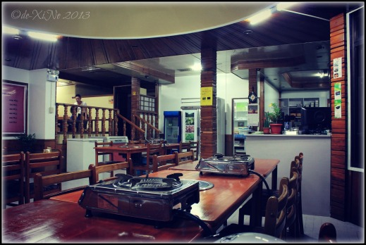 Wellbeing Ssampbap Korean Restaurant Baguio a section of the resto