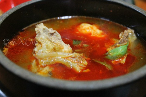 Wellbeing Ssampbap Korean Restaurant Baguio pork bone soup