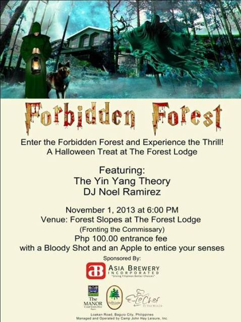 Forest Lodge forbidden forest 2013 poster