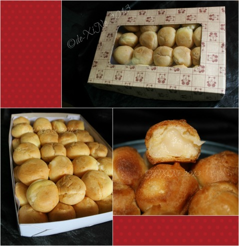Jo's Aunt's cream puffs