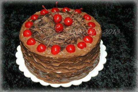 The Ganache Baguio black forest cake