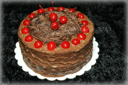 The Ganache Baguio black forest cake