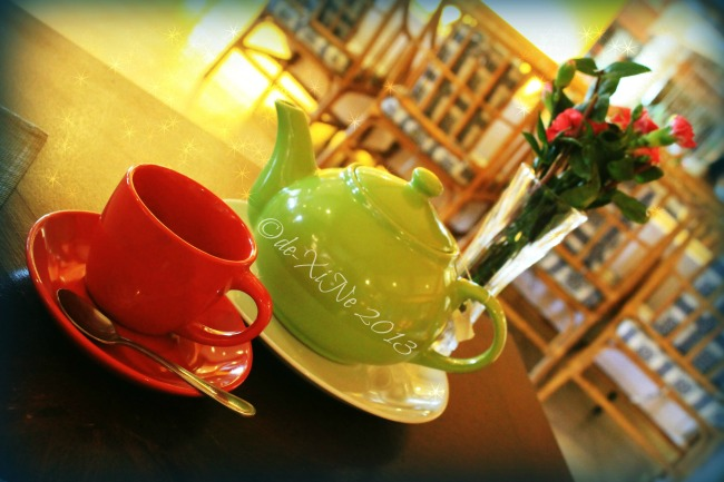 A spot of tea Twist at Forest Lodge Baguio