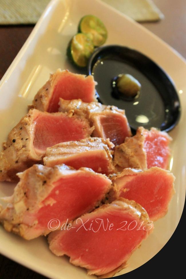 Twist at Forest Lodge Baguio tuna tataki