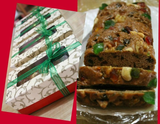 The Ganache Baguio fruitcake