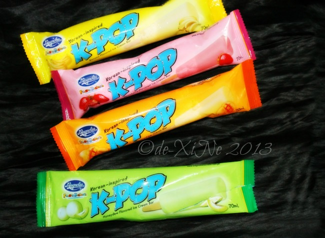 K-Pop Korean inspired ice cream bar