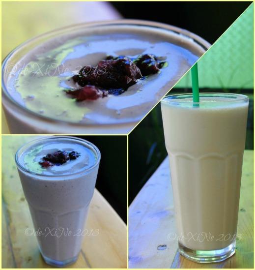 La Comida de Antonio Ristorante Baguio 2013 creamy shakes