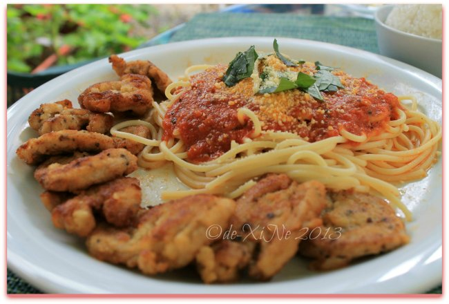Mother's Garden and Cafe Baguio piccata Milanese