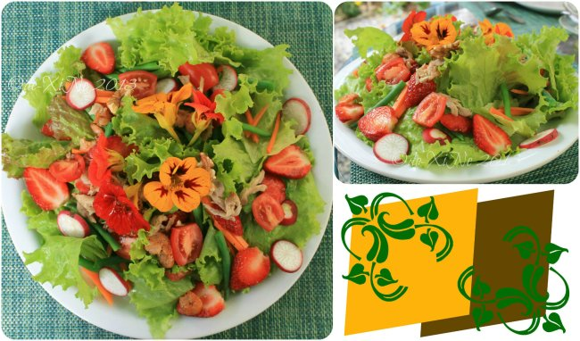 Mother's Garden and Cafe Baguio house salad