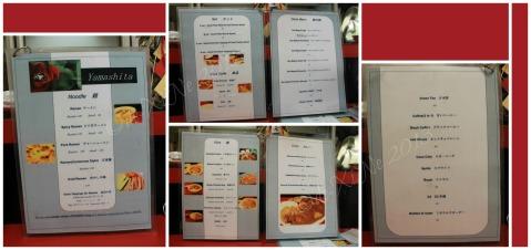 Yamashita Noodle House Baguio menu