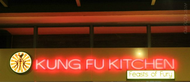 Kung Fu Kitchen Baguio sign
