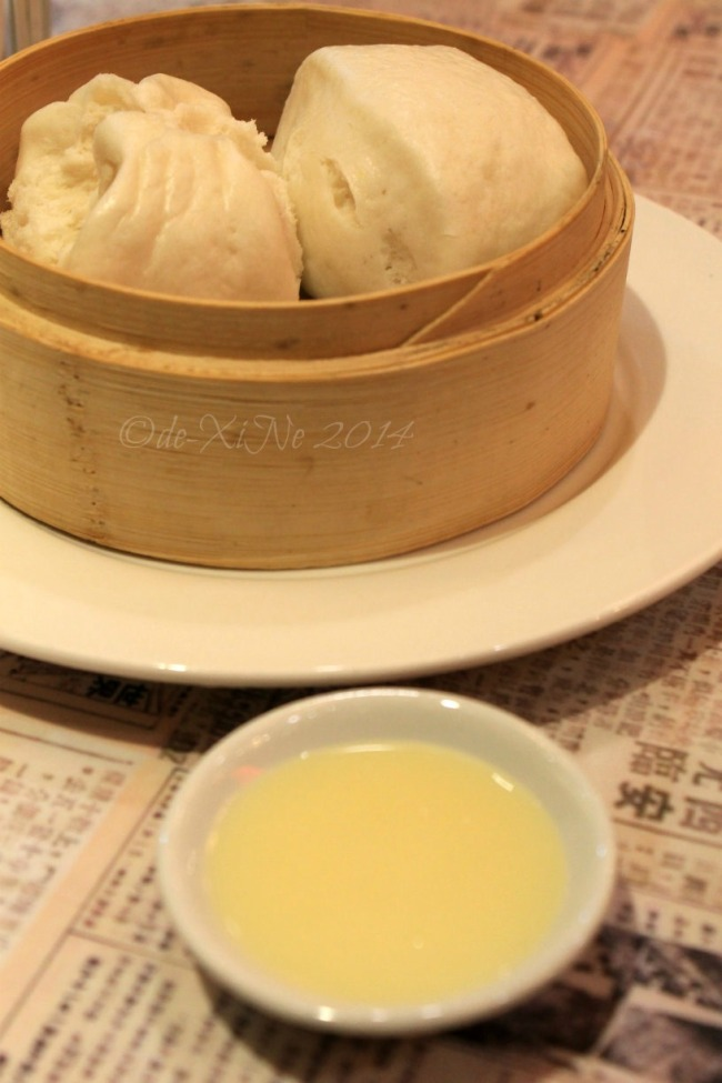 Kung Fu Kitchen Baguio steamed cua pao with condensed milk