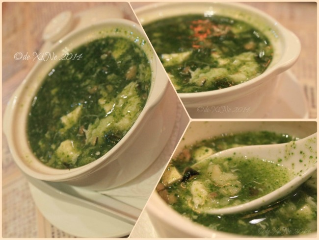 Kung Fu Kitchen Baguio seafood spinach