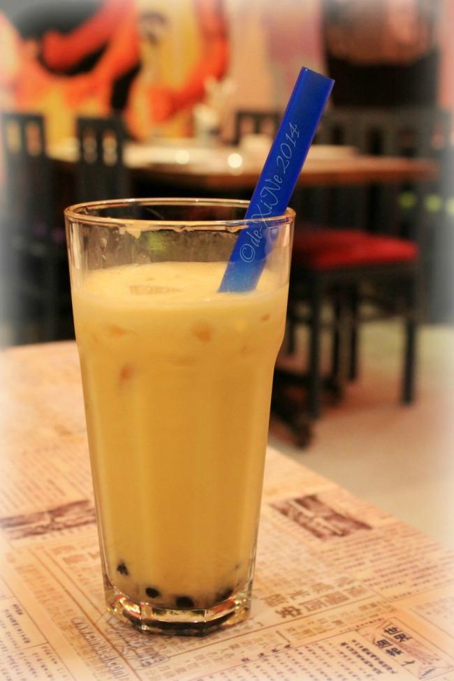 Kung Fu Kitchen Baguio mango yogurt milk tea