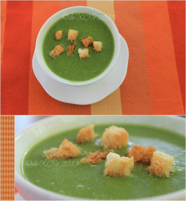 High Point Restaurant Baguio cream of spinach soup