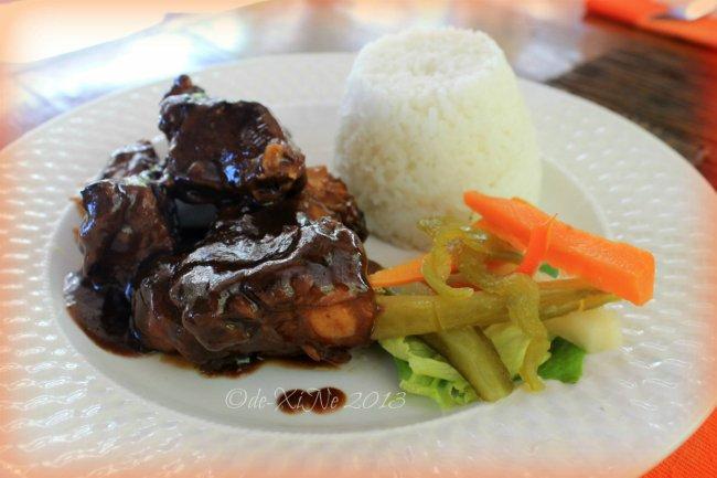 High Point Restaurant Baguio barbeque spareribs