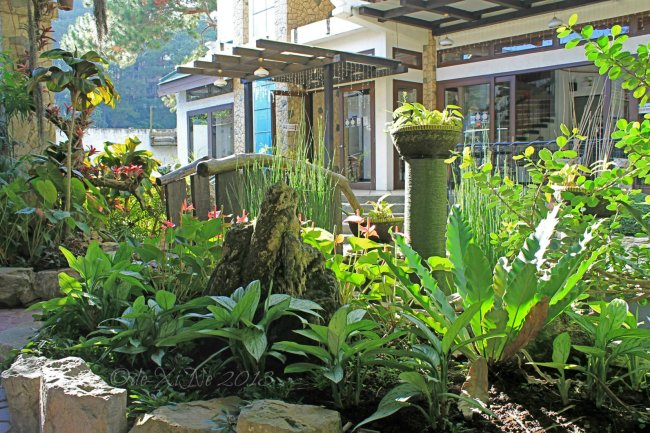 High Point Restaurant Baguio landscaping