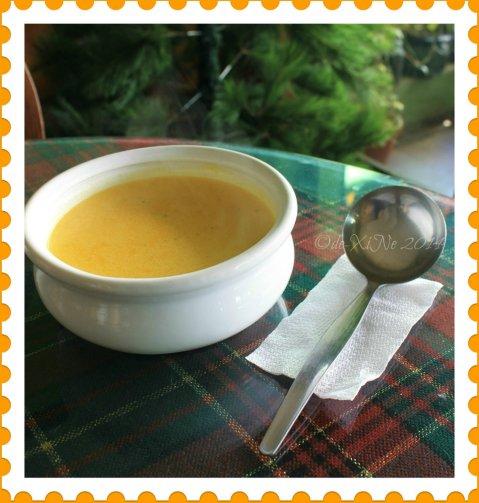 La Comida de Antonio Ristorante Baguio potato and leek soup