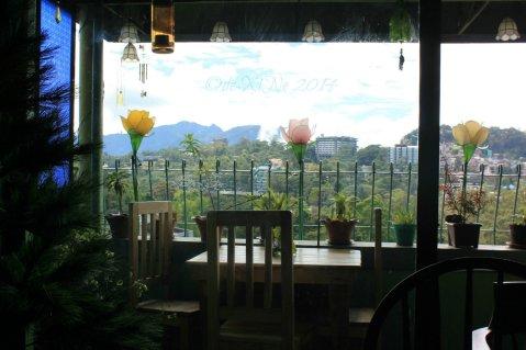 nostalgic view from La Comida de Antonio Ristorante Baguio